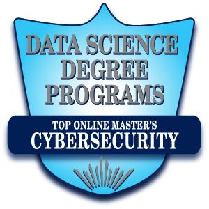 Top Online Master's in Cybersecurity Badge